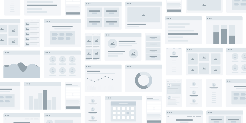 Wireframe elements